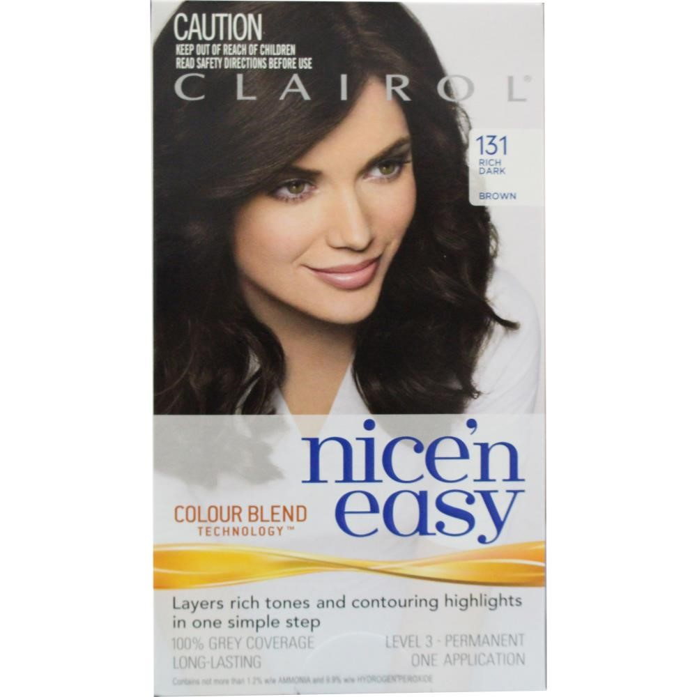 Your Beauty Routine- Clairol Nice n  easy age defy permanent hair ... 98d71d5a4f6b