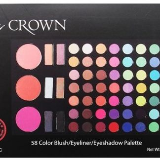 Crown Brush 58 Color Blush, Eyeliner, Eyeshadow Palette PackMelbourne discount beauty store, cosmetic products Melbourne, discount beauty products Melbourne, discount beauty items Melbourne, buy makeup online Melbourne, Your Beauty Routine Mornington Peninsula, sale beauty products Mornington Peninsula, online beauty store Mornington Peninsula, Australia online beauty store Mornington