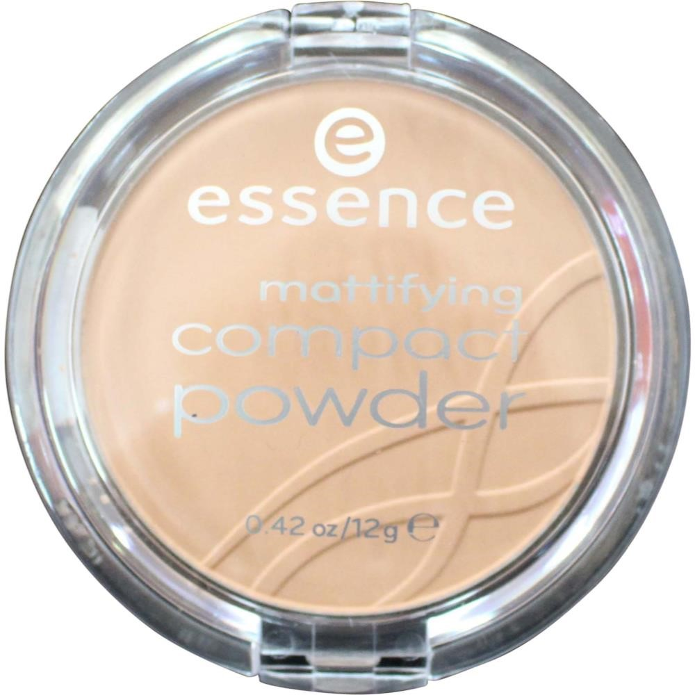 ESSENCE 12g MATTIFYING COMPACT POWDER 01 NATURAL BEIGE